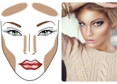 Контурирование — игра света и тени для безупречного макияжа