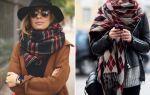 Модные женские шарфы 2018-2019,  как их выбирать, фото