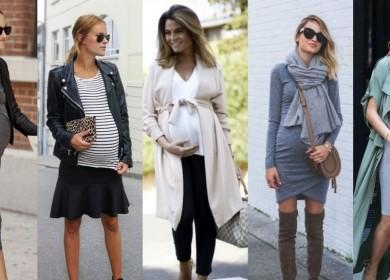 Модная и красивая одежда для беременных 2018-2019