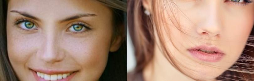 Какие цвета волос подходят зеленоглазым девушкам