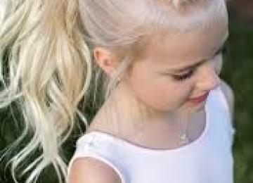 Стильные прически для девочек на средние волосы