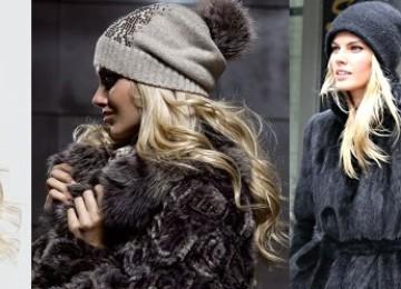 Женские головные уборы: модели осень-зима 2020-2021