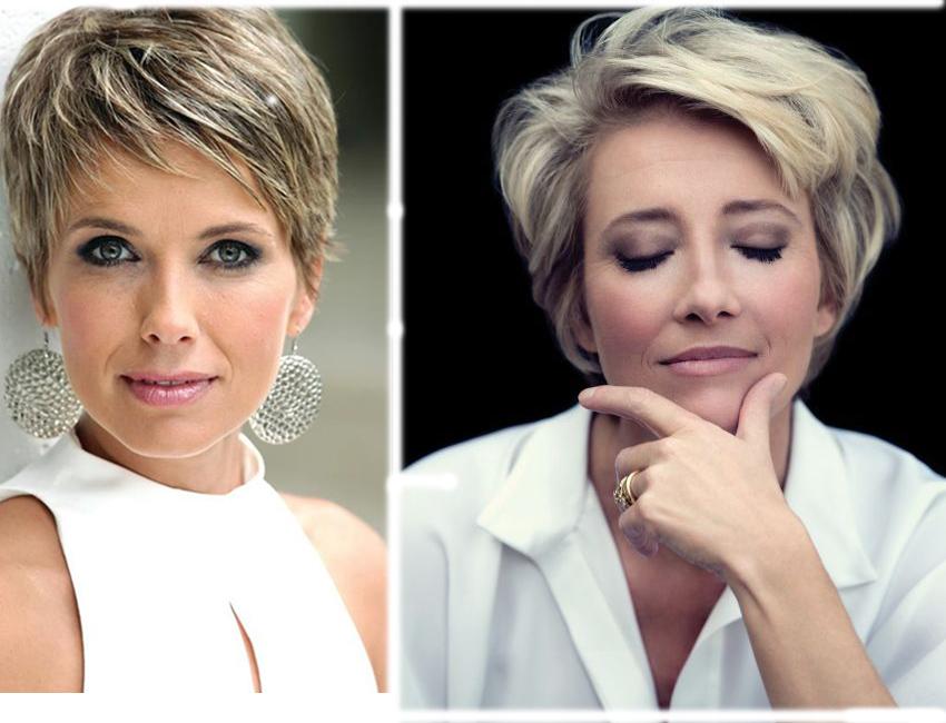 Стрижки на короткие волосы 2018 женские фото после 60 лет красивые, смешные ремонте