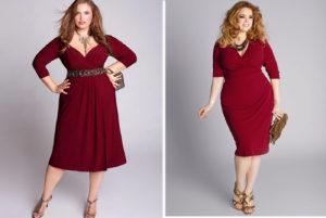 модный оттенок марсала для платья