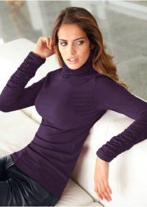 свитер с высоким горлом