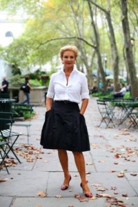 классическая одежда для женщины после 50