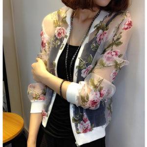 блузка с пластиком