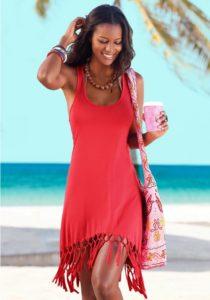 платье сарафан пляжное