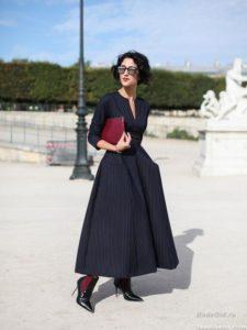 платье для прогулки в стиле нью лук