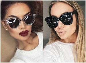модные женские очки 2018