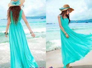 макси платье для пдляжа