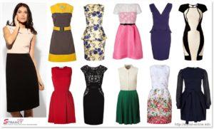 Летние платья для фигуры типа прямоугольник