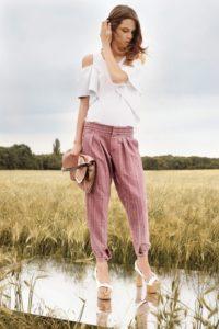 брюки в романтическом стиле