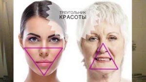 носогубный треугольник