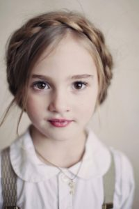 ободок - плетение на длинные волосы в школу и сад