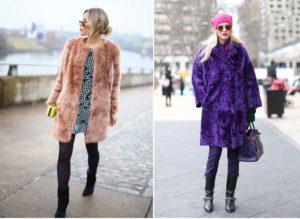Шубы и пальто из искусственного меха