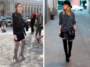 ботфорты - модная женская обувь осень -зима 2018-2019