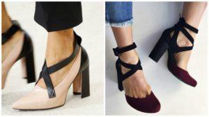 Туфли с перемычками