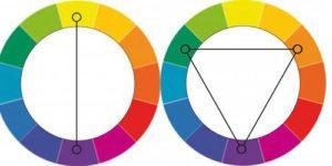 как сочетать контрастные цвета