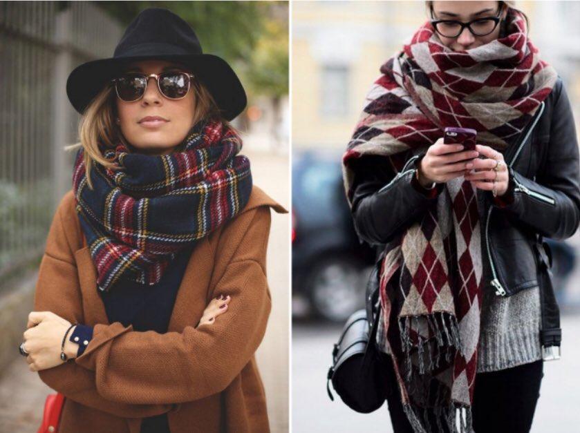 Выбираем модные женские шарфы осень-зима 2020-2021,фото