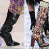 Обувь осень-зима 2018-2019 на подиумах
