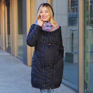 Пуховик на зиму для беременных