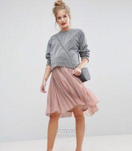 мода для беременных 2018-2019