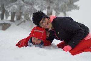 как одеваться маме в декрете зимой