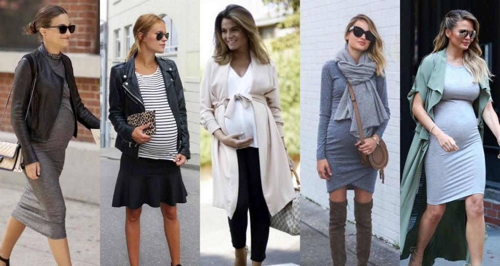 905ca91ec88a Как одеваться беременным в разное время года, на разных сроках