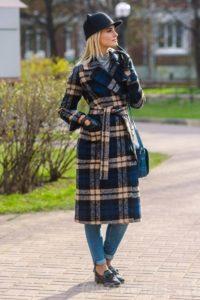 """Фото: женское пальто в """"английском стиле"""""""