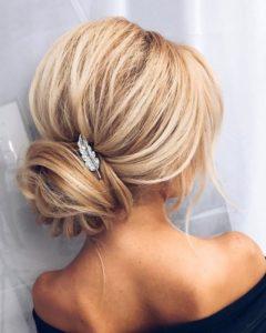 новогодняя прическа на длинные волосы