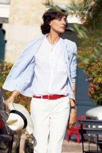 блузка во французском стиле