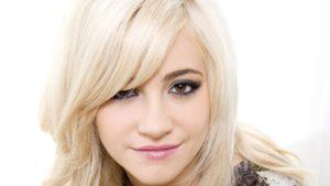 платиновый блонд и карие глаза