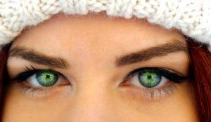 Фото: зелено-голубые глаза