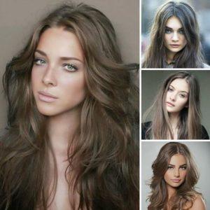 Цвет волос к зеленым глазам и светлой коже с бронзовым оттенком